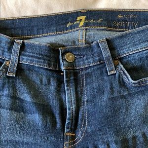 7 for all mankind - the ankle skinny jean